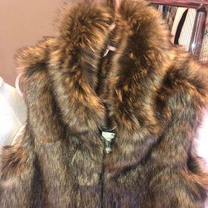 Brand New Ralph Lauren faux fur Vest